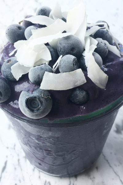 Midnight Coconut Blueberry Smoothie