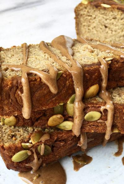 Maple Pecan Pumpkin Banana Bread