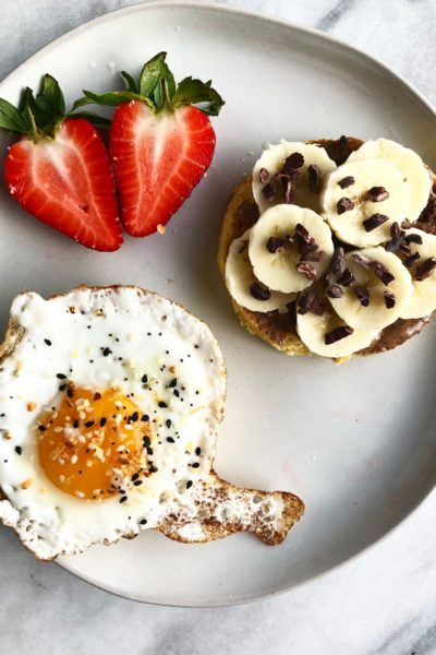 2 Minute Microwave Paleo English Muffin
