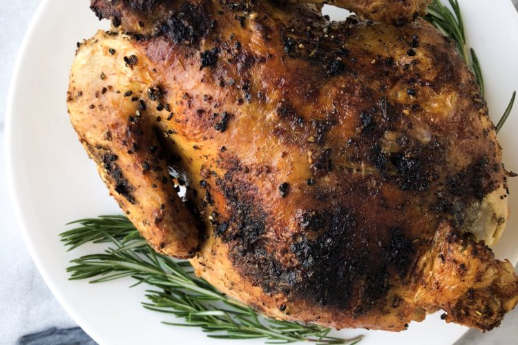 Air-Fried Rotisserie Chicken in Only an Hour
